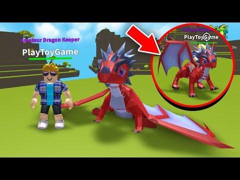 СИМУЛЯТОР ДРАКОНА в РОБЛОКС у НАС родился ДРАКОН в ROBLOX Dragon Keeper