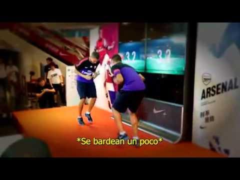 Kieran Gibbs vs Alex Oxlade-Chamberlain - Subtitulos en Español