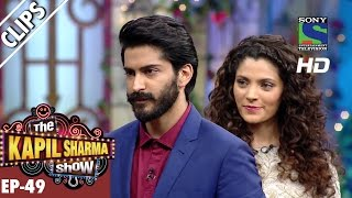 Harshvardhan Kapoor and Saiyami Kher promoting Mirzya -The Kapil Sharma Show-Ep.49-8th Oct 2016