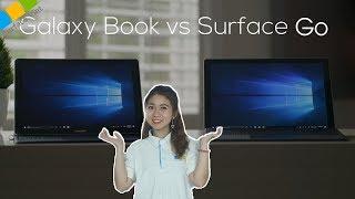Galaxy Book mới sắp ra mắt cạnh tranh với dòng Surface Go của Microsoft ?