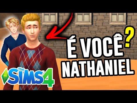 ENCONTREI O NATHANIEL NO THE SIMS!!!
