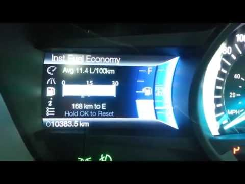 2014 Ford Fusion - Fuel Economy & Efficiency + Fill-Up Costs
