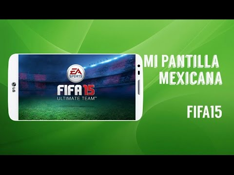 Mi Plantilla mexicana | FIFA 15 | Mexico VS Brasil