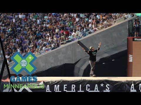Elliot Sloan wins Skateboard Big Air gold | X Games Minneapolis 2017