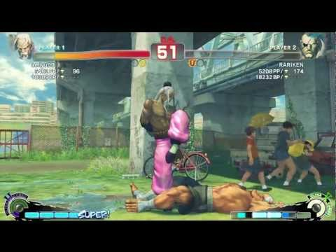 Amiyu (Gen) vs RARIKEN (Sagat) - AE 2012 Matches *720p*