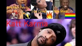 Katt Karma caught Kev Tiffany and Wanda!