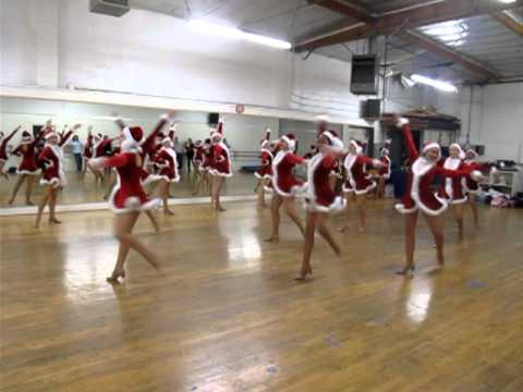 Rockettes Opening Number Rehearsal
