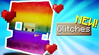 Minecraft Pocket Edition - GLITCHES // 6 working glitches [MCPE]