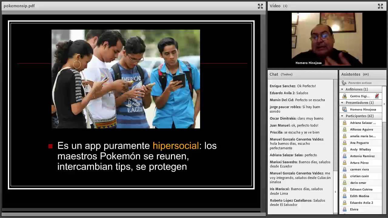 Webinar: PokemonGo! y periodismo