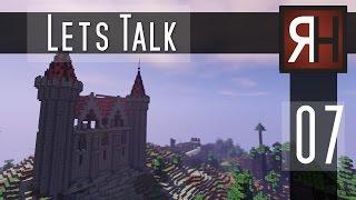 Minecraft Let´s Talk [007] Umbau am Dach #Burg