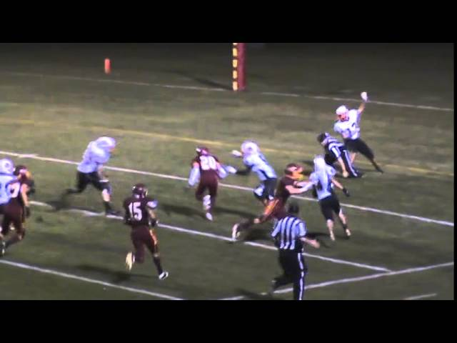 10-17-14 - 41 yard TD catch and run for Niko Guzman (Brush 19, Sterling 6)