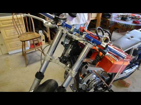 New batteries tested in an electric motorcycle