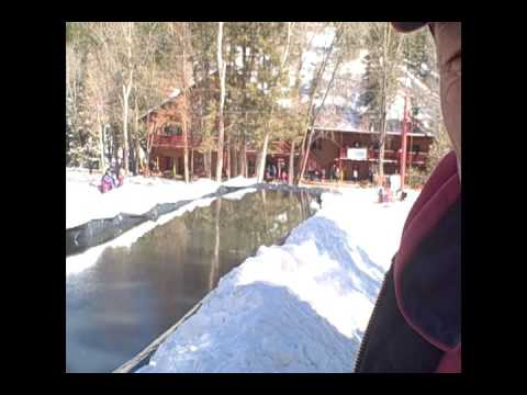 Sipapu Pond Skimming competition Video