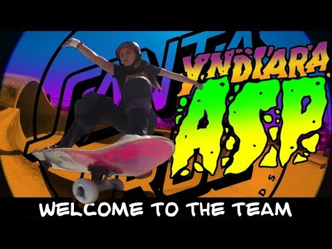 Santa Cruz Skateboards Welcomes Yndiara Asp!