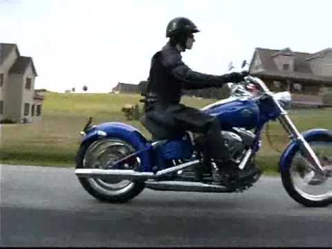 Throttle Jockey: 2008 Harley Davidson FXCW Rocker C Video