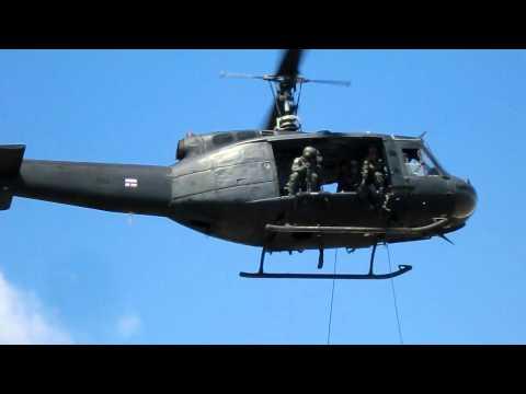 ทหารพรานฝึกลงทางดิ่งที่ยะลา