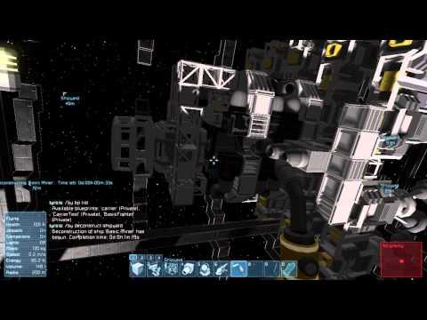 Space Engineers Shipyard and Blueprints Mod