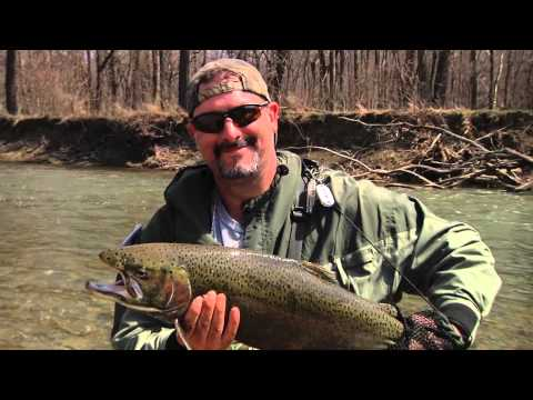 Steelhead Fishing on the Grand River with ODNR Director Jim Zehringer