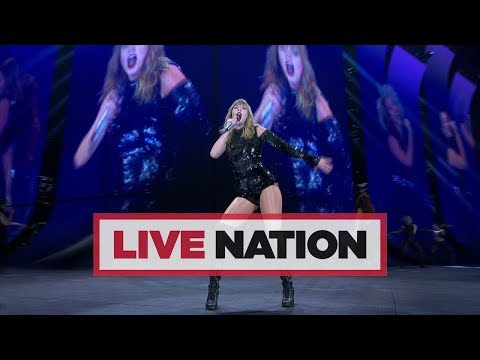 Taylor Swift reputation Stadium Tour Arrives In The UK Next Month! | Live Nation UK