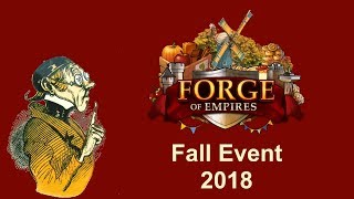 FoEhints: Fall Event 2018 (Sep12-Oct03) in Forge of Empires
