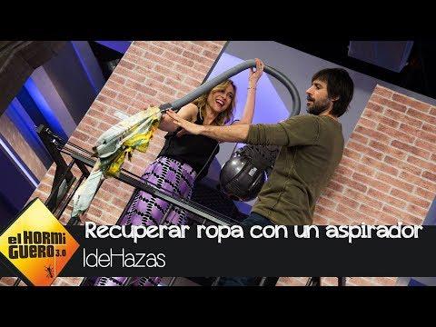 Marta Hazas se lleva la fachada de su casa para descubrir una de sus 'IdeHazas' - El Hormiguero 3.0