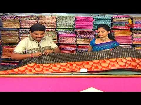 Superb Checks Design Maheshwari Silk Sarees | New Arrivals | Vanitha TV