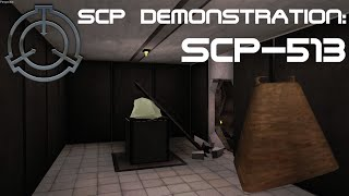 SCP Demonstration: SCP-513