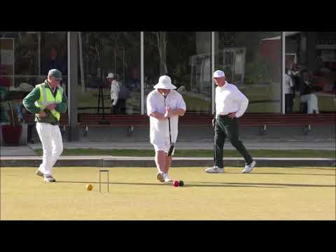 VIC Mens golf croquet final Game 3 2017