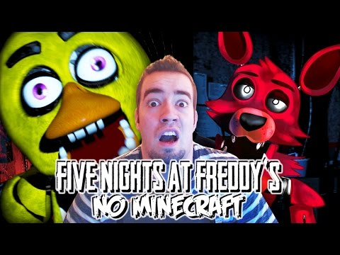5 NIGHTS AT FREDDY'S NO MINECRAFT!