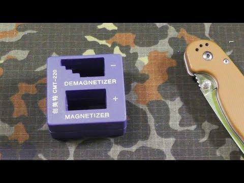 Размагничиватель - намагничиватель (demagnetizer tool). Что внутри