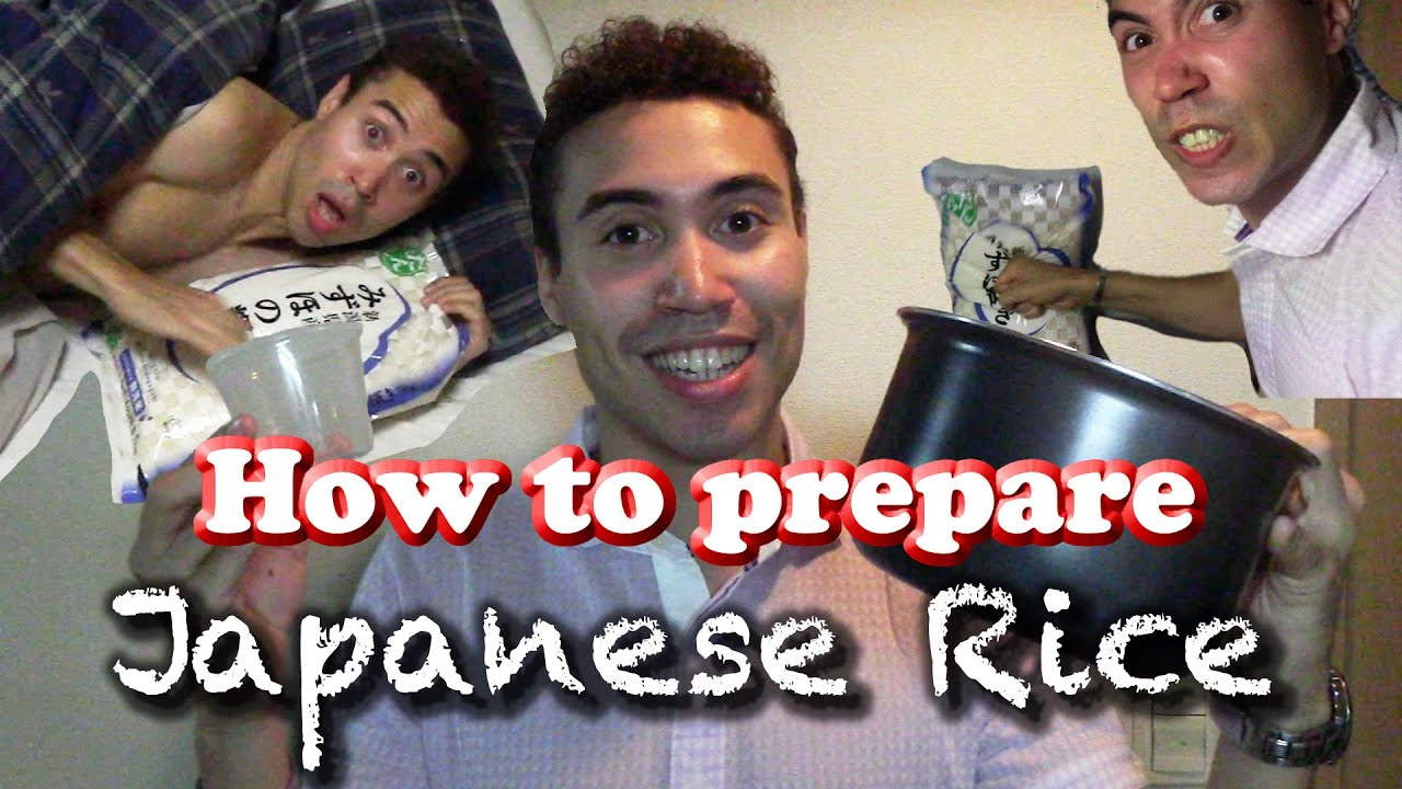 How To Prepare Japanese Rice [MJ selection]