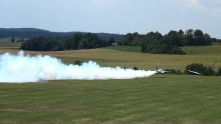NATRIX PariTech Ultra Fast RC Turbine Model Jet over 200MPH with Smoke