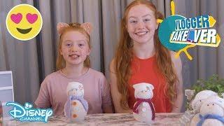 Vlogger Takeover | DIY - Sock Snowmen ?? | Disney Channel UK