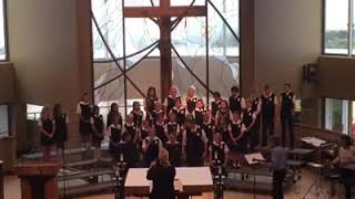 St. Joachim Catholic School Student Choir - Bridge Over Troubled Water