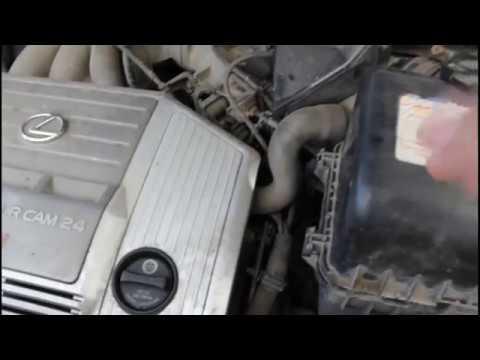 Видео замена свечей. LEXUS RX300 hcdin.ru