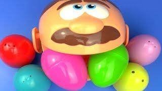 Play Doh Doctor Set Surprise Egg Kinder Toys for Kids