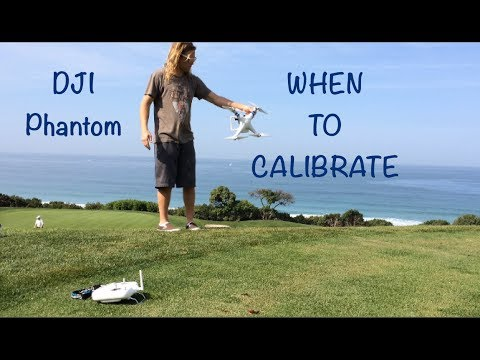 When To Calibrate Compass / GPS - DJI Phantom