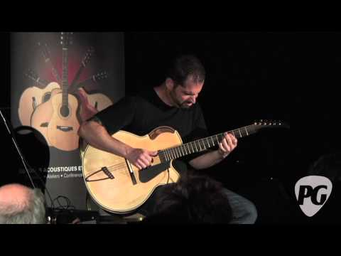 Montreal Guitar Show '10 - Ken Parker Guitars played by Charlie Hunter