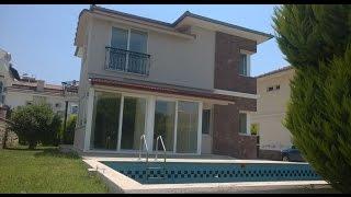Fethiye  satılık villa müstakil 350 m2 içinde havuzlu dubleks kelepir