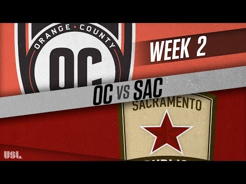 Orange County SC Vs Sacramento Republic FC: March 24, 2018