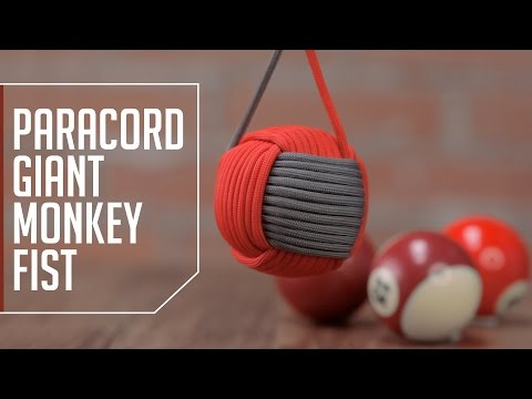 Paracord Giant Monkey Fist