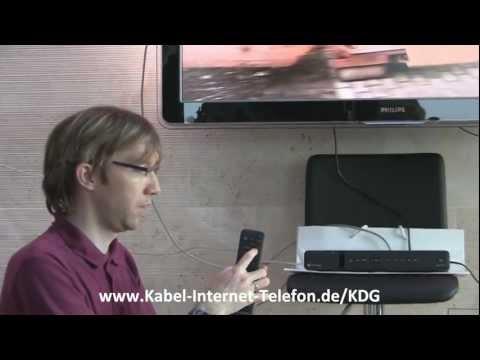 Kabel Deutschland HD Recorder / Receiver Sagemcom RCI88-320 KDG Testbericht / Praxistest