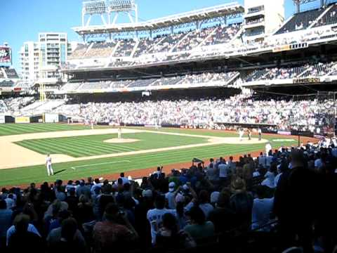 Manny Ramirez at Petco Park Video