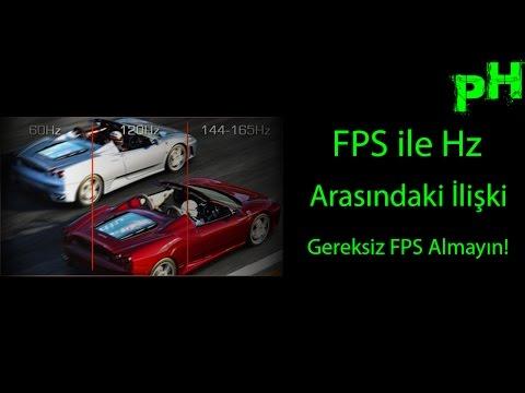 Fps ile Hz Arasındaki İlişki - Gereksiz FPS Almayın!