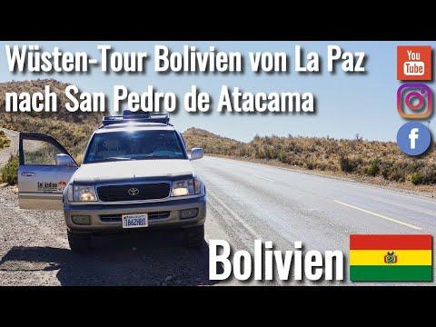 Von La Paz über den Sajama Nationalpark in die Salar de Uyuni Bolivien - Weltreise VLOG #96 4K