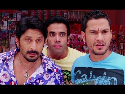Arshad Warsi Sets Up His Business Of Firecrackers - Golmaal 3 video