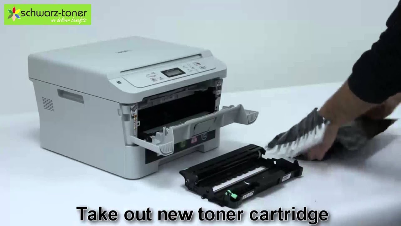 brother dcp 7055 toner cartridge replacement user guide 7104h youtube. Black Bedroom Furniture Sets. Home Design Ideas
