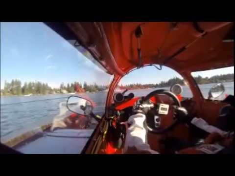 NM88 Mr. Jiggs Hydroplane going to Quake on the Lake