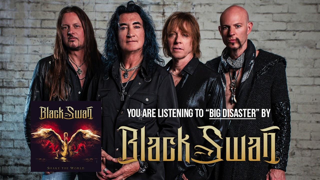 "Black Swan - ""Big Disaster""の試聴音源を公開 新譜「Shake The World」2020年2月14日発売予定 Robin McAuley, Reb Beach, Jeff Pilson, Matt Starrによるバンド thm Music info Clip"