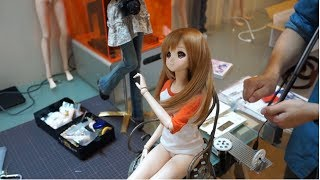 The system helps Smart Doll move like a human - Intelligent doll